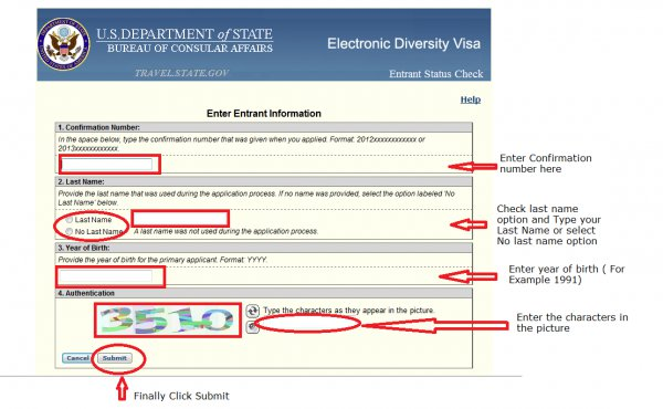 Dv lottery 2016 results check online