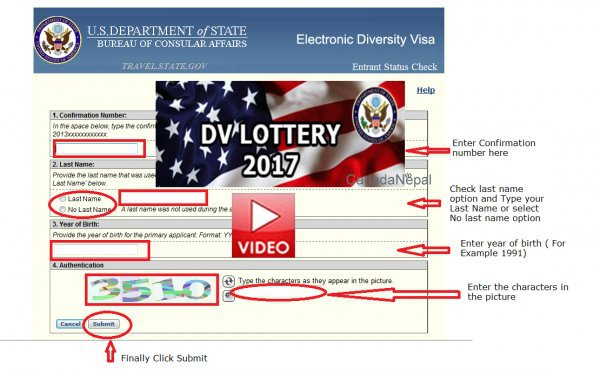 Dv lottery 2016 results check
